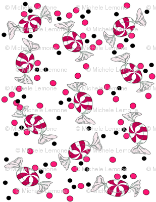 Peppermint and Polka Dots