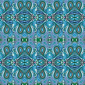 paisley dots