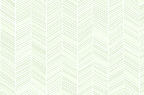 Herringbone Hues of Mint by Friztin fabric by friztin on Spoonflower - custom fabric