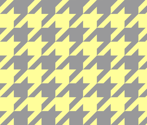 The Houndstooth Check ~ Portlandia fabric by peacoquettedesigns on Spoonflower - custom fabric