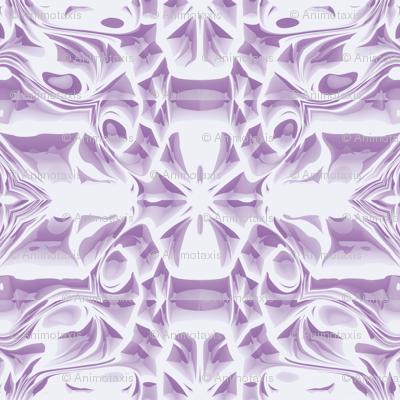 Lilac Snowflake Swirls