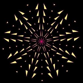 Snowflake Spirals 4