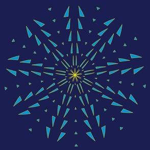 Snowflake Spirals 6