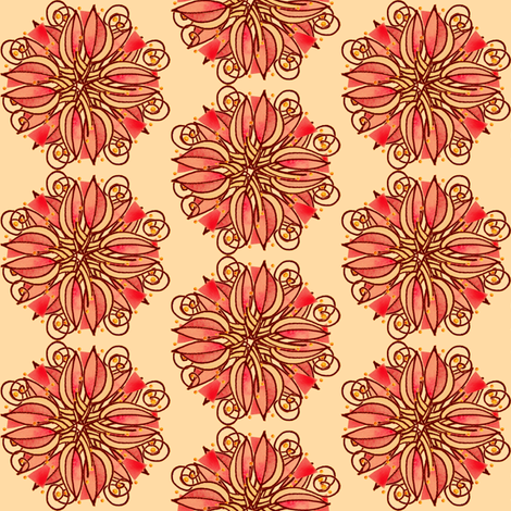 LobPlntqd82sq fabric by whimsikate on Spoonflower - custom fabric