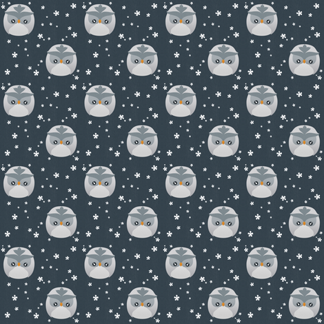 Owly fabric by kulikuli on Spoonflower - custom fabric