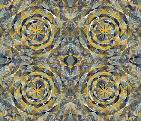 Optimetrics Whirl fabric by samossie on Spoonflower - custom fabric