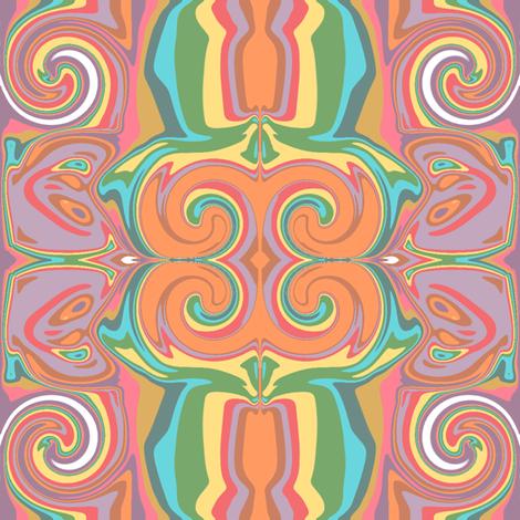 Crazy 'Mod' design  fabric by art_on_fabric on Spoonflower - custom fabric