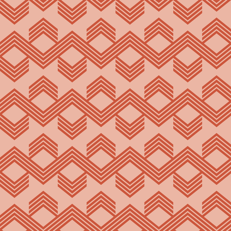 pinkzag fabric by mrshervi on Spoonflower - custom fabric