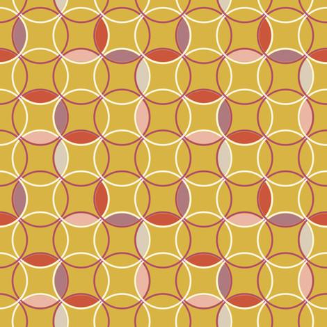 Girl Circles fabric by mrshervi on Spoonflower - custom fabric