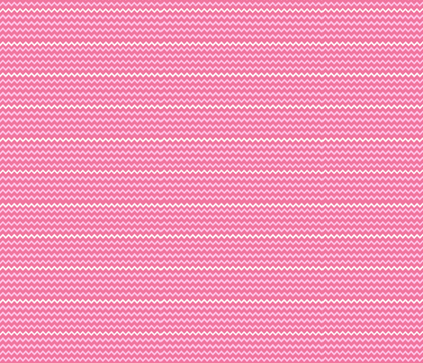 Pink Chevron fabric by kiniart on Spoonflower - custom fabric
