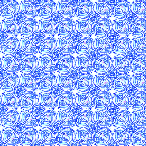 LobPlntqd77a01 fabric by whimsikate on Spoonflower - custom fabric