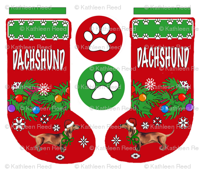DACHSHUND_stocking