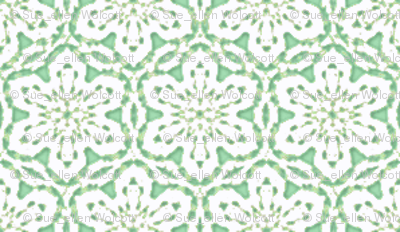 Snowflake_Lace___-mint_green