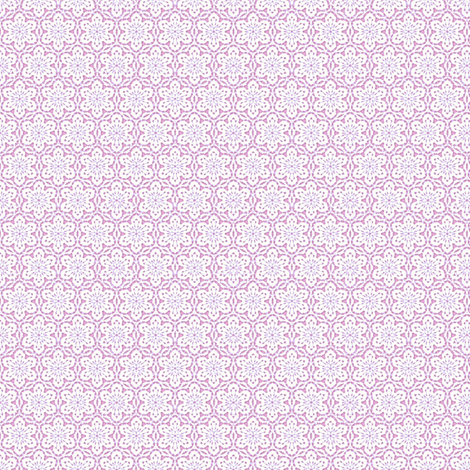 Snowflake_Lace___-pink4 fabric by fireflower on Spoonflower - custom fabric