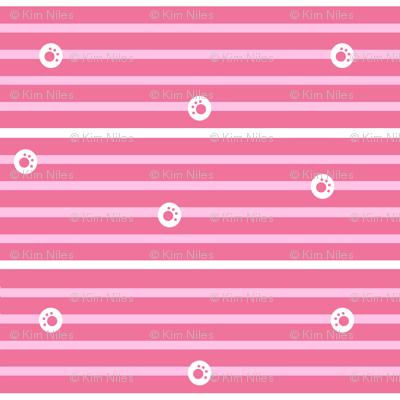 Striped Pawprints