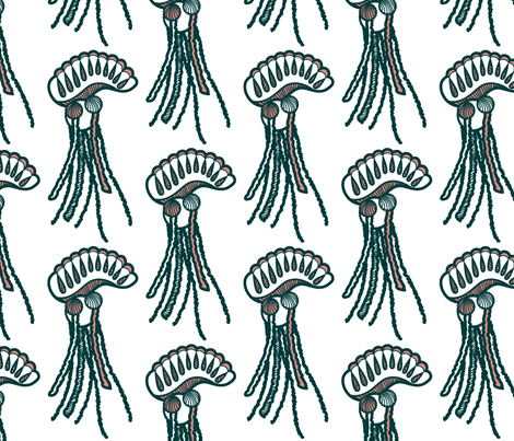 ManOWar fabric by ravenous on Spoonflower - custom fabric