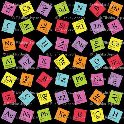 Topsy Turvey Periodic (Dark Small)