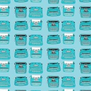 Typewriters Blue