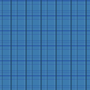 Small Blue Plaid for Bow Ties