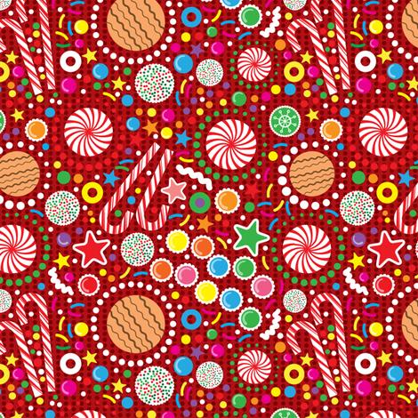Yummy Treats fabric by edward_elementary on Spoonflower - custom fabric