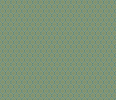 Quatrefoil fabric by kirstin_e on Spoonflower - custom fabric