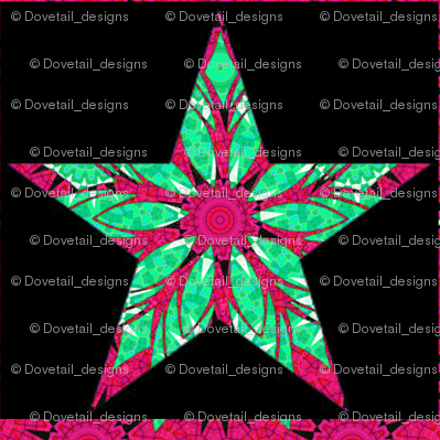 HOLIDAY ORNAMENT STARS 1