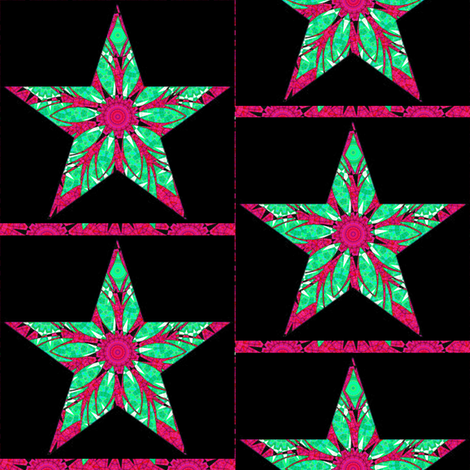 HOLIDAY ORNAMENT STARS 1 fabric by dovetail_designs on Spoonflower - custom fabric
