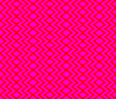 SKETCH X- fiery pink fabric by marcador on Spoonflower - custom fabric