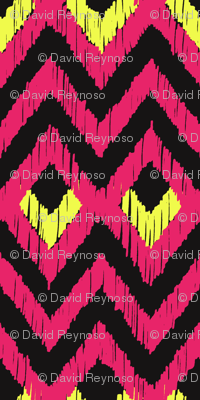 NATIVO - fiery pink and citron