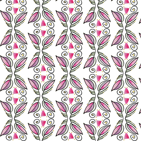 LobPlntV fabric by whimsikate on Spoonflower - custom fabric