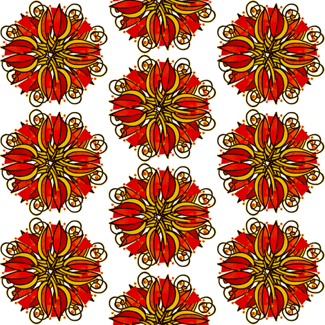 LobPlntqd80sq fabric by whimsikate on Spoonflower - custom fabric