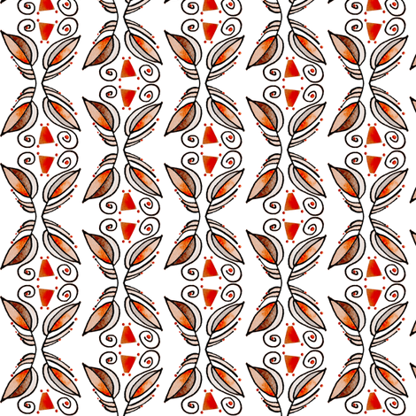 LobPlntV05 fabric by whimsikate on Spoonflower - custom fabric