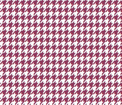 Houndstooth 3D fabric by graycatbird on Spoonflower - custom fabric