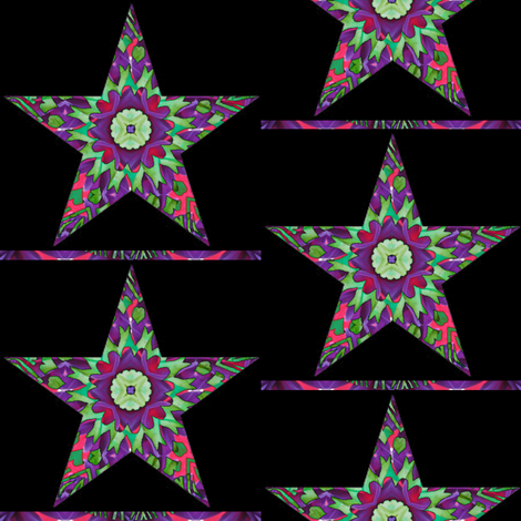 Holiday Stars 3 - Ornaments fabric by dovetail_designs on Spoonflower - custom fabric