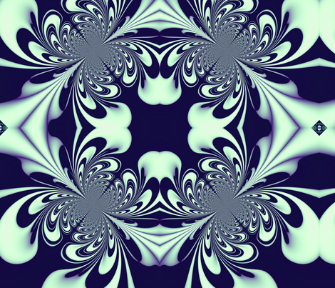 Spilt Milk fabric by yewtree on Spoonflower - custom fabric