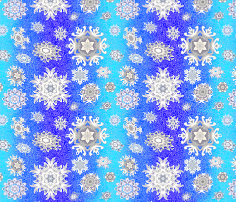Snow_dancing_by_Needlesongs fabric by needlesongs on Spoonflower - custom fabric