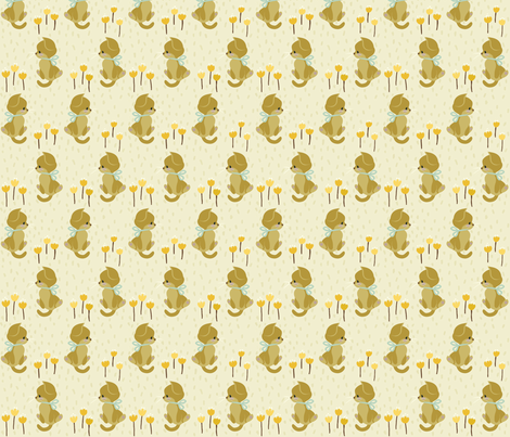Good Morning Kittens fabric by thalita_dol on Spoonflower - custom fabric