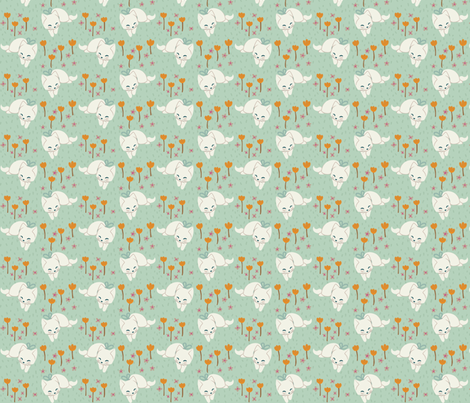 Soft Kittens fabric by thalita_dol on Spoonflower - custom fabric
