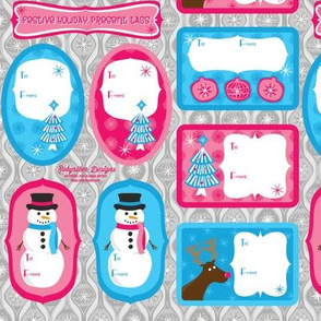 Pop Holiday Present Tags