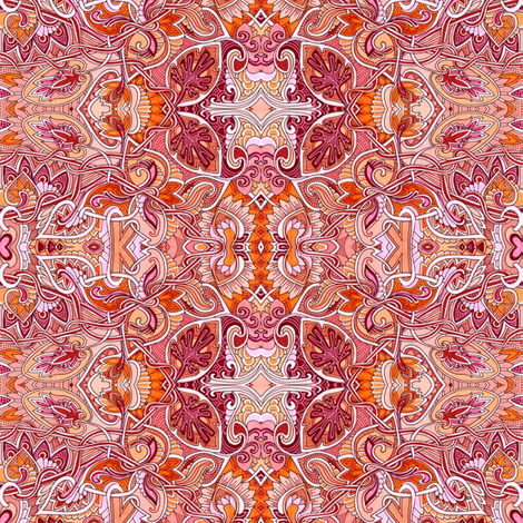 Because I Like William Morris fabric by edsel2084 on Spoonflower - custom fabric