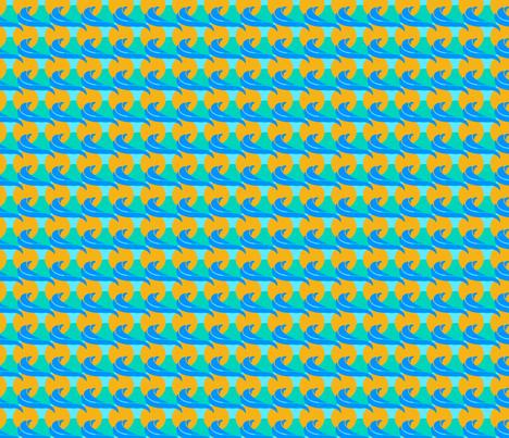 Hawaii Beach fabric by dakabn on Spoonflower - custom fabric