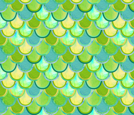 scales fabric by friedbologna on Spoonflower - custom fabric