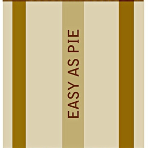 EASY AS PIE table napkins