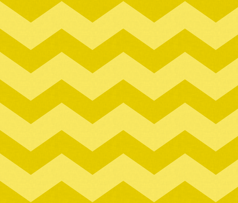 Wide Yellow Chevron  fabric by curious_nook on Spoonflower - custom fabric