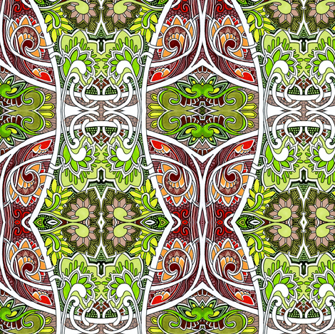 When You Can't See the Forest Because of the Trees fabric by edsel2084 on Spoonflower - custom fabric