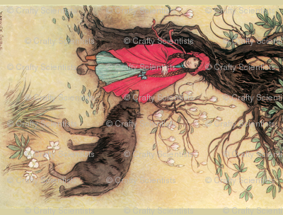 """Red Riding Hood, """" A Child's Book of Stories"""", 1913"""