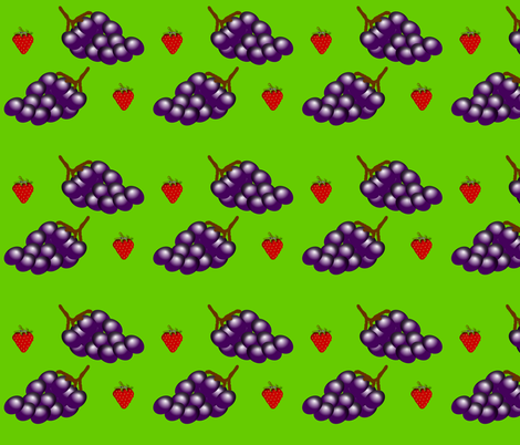grapes fabric by boneyfied on Spoonflower - custom fabric