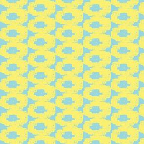 Dalphin linen yellow robin egg