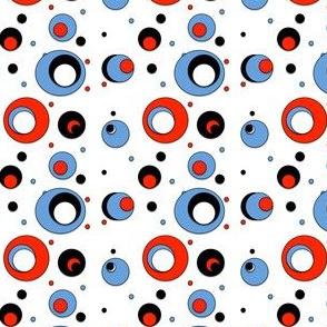 Circle in circles