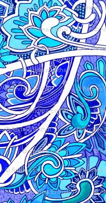 Big Blue Romance Victorian Style